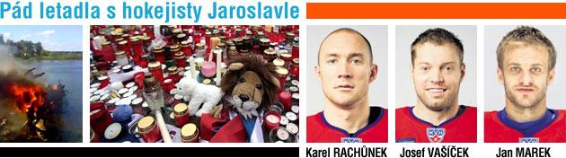 Pád letadla s hokejisty Jaroslavle